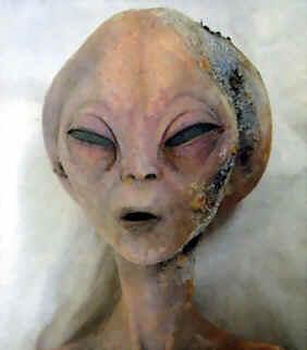 Dead 'grey' alien