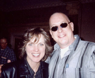 Ronda Vincent with George McClure