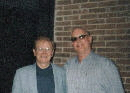 Harold Bradley, Pres AFM Nashville Local & George McClure in 2004