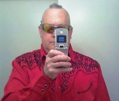 George McClure selfie