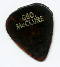 FREE COLLECTIBLES George McClure flatpicks