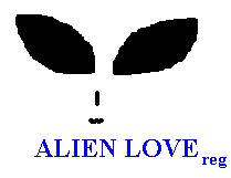 Alien Love®[tm] registered trademark and logo